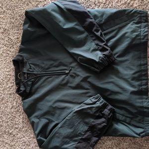 Dockers 1/4 zip pullover rain jacket